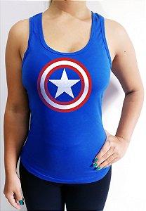 Regata feminina Capitão américa