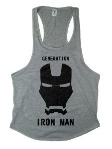Regata Cavada Long  Iron Man