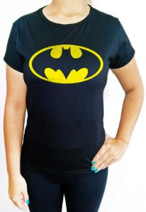 Baby Look feminina Batman