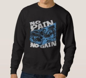 Moletom Masculino No Pain No Gain
