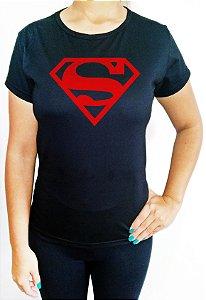 Baby Look feminina Superman