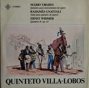 Quinteto Villa-Lobos - Radamés Gnatalli, Mário Tavares, Ernst Widmer