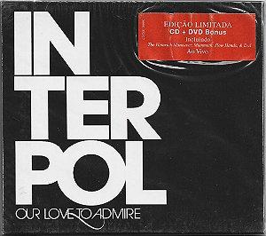 Interpol - 2008 - Our Love To Admire - CD + DVD Bonus
