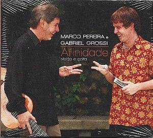 Marco Pereira E Gabriel Grossi - 2005 - Afinidade - Violão E Gaita