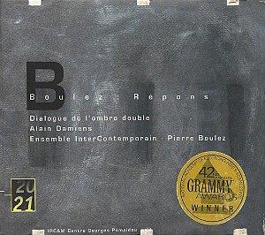 Pierre Boulez - Boulez - Répons - Dialogue de lombre double - Alain Damiens - Ensemble InterContemporain