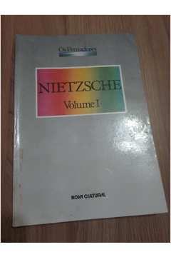 Livro os Pensadores: Nietzsche, Volume 1 Autor Nietzsche (1987) [usado]