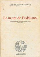 Livro Le Néant de L Existence Autor Arthur Schopenhauer (1991) [usado]