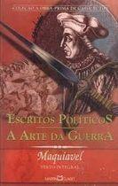 Livro Escritos Políticos; a Arte da Guerra Autor Maquiavel (2005) [usado]