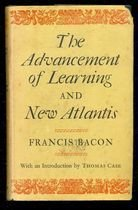 Livro The Advancement Of Learning And New Atlantis Autor Francis. Bacon (1974) [usado]