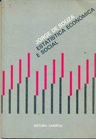 Livro Estatística Econômica e Social Autor Jorge de Souza (1977) [usado]