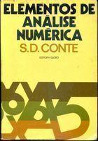 Livro Elementos de Análise Numérica Autor S. D. Conte (1977) [usado]