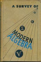 Livro a Survey Of Modern Algebra Autor Garrett Birkhoff, Saunders Maclane (1950) [usado]