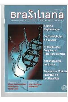 Livro Revista Brasiliana - N° 10 - Ano 2002 Autor Academia Brasileira de Música [usado]