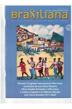 Livro Revista Brasiliana - N° 12 - Ano 2002 Autor Academia Brasileira de Música [usado]