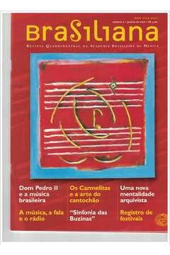 Livro Revista Brasiliana - N° 7 - Ano 2001 Autor Academia Brasileira de Música [usado]