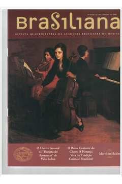 Livro Revista Brasiliana - N° 22 - Ano 2006 Autor Academia Brasileira de Música [usado]