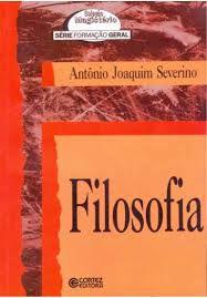 Livro Filosofia Autor Antônio Joaquim Severino (1994) [usado]