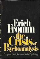Livro The Crisis Of Psychoanalysis Autor Erich Fromm (1970) [usado]