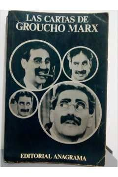 Livro Las Cartas de Groucho Marx Autor Groucho Marx (1967) [usado]