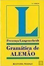 Livro Gramática de Alemão Autor Heinz D. Wendt (1994) [usado]
