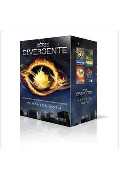 Livro Box Divergente - com 4 Volumes Autor Veronica Roth (1989) [usado]