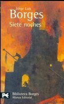 Livro Siete Noches Autor Jorge Luis Borges (2007) [usado]