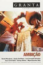 Livro Granta-4-ambição Autor Vários Autores (2009) [usado]