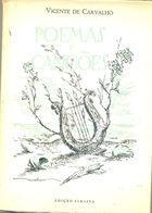 Livro Poemas e Canções Autor Vicente de Carvalho (1962) [usado]