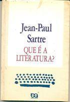 Livro que é a Literatura? Autor Jean-paul Sartre (1989) [usado]