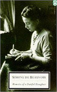 Livro Memoirs Of a Dutiful Daughter Autor Simone de Beauvoir (1963) [usado]