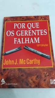 Livro por que os Gerentes Falham Autor John J. Mc Carthy (1990) [usado]