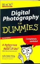 Livro Digital Photography For Dummies Autor Julie Adair King (2003) [usado]