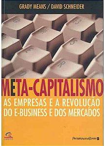 Livro Meta - Capitalismo Autor Grady Means e David Schneider (2001) [usado]
