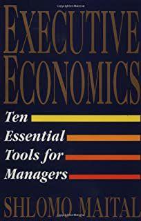 Livro Executive Economics Autor Shlomo Maital (1994) [usado]