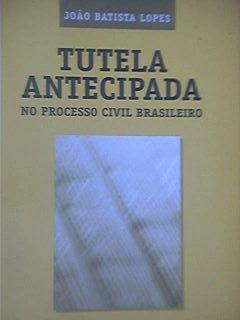 Livro Tutela Antecipada Autor João Batista Lopes (2001) [usado]