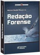 Livro Redação Forense Autor Marcus Claudio Acquaviva (2009) [usado]