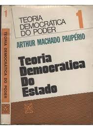 Livro Teoria Democrática do Estado Autor Arthur Machado Paupério (1976) [usado]