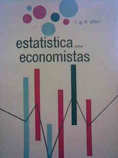 Livro Estatística para Economistas Autor R. G. D. Allen (1964) [usado]