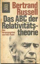 Livro das Abc Der Relativitats-theorie Autor Bertrand Russell (1977) [usado]