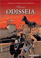 Livro Odisseia - em Quadrinhos Autor Homero (2016) [usado]