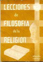 Livro Lecciones de Filosofia de La Religion Autor Alberto Rembao (1958) [usado]
