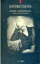 Livro Entretetiens Autor Arthur Schopenhauer (1992) [usado]