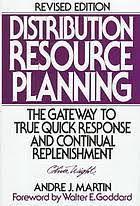 Livro Distribuition Resource Planning Autor Andre J. Martin (1995) [usado]