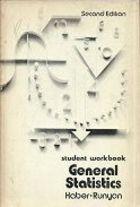 Livro General Statistics: Student Workbook (second Edition) Autor Audrey Haber, Richard P. Runyon (1973) [usado]
