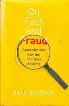 Livro On Fact And Fraud Autor David Goodstein (2010) [usado]