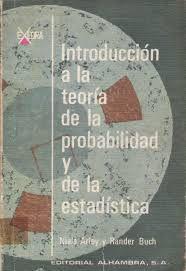 Livro Introducción a La Teoria de La Probabilidad Y de La Estadística Autor Niels Arley e Rander Buch (1967) [usado]