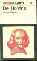 Livro The Homine Autor Thomas Hobbes (1984) [usado]