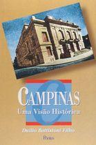 Livro Campinas: Uma Visão Histórica Autor Duílio Battistoni Filho (1996) [usado]