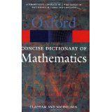 Livro Oxford: Concise Dictionary Of Mathematics Autor Christopher Clapham And James Nicholson (2005) [usado]