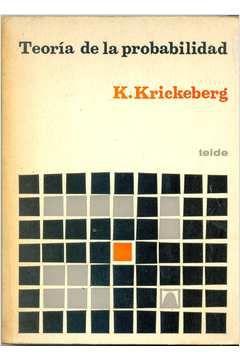 Livro Teoría de La Probabilidad Autor Klaus Krickeberg (1973) [usado]